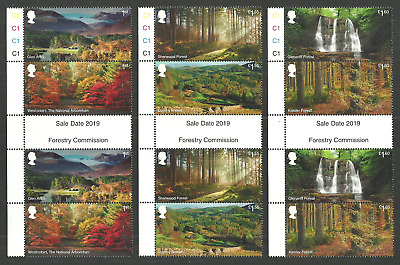 Gb 2019 Forests Trees Waterfalls Geology Gutter Pairs Set Mnh