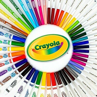 Crayola Colouring Markers - Lots of options to choose, for Children & Adults