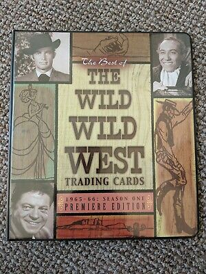 WILD WILD WEST TV SERIES BASE //BASIC SET 100 CARDS BY RITTENHOUSE