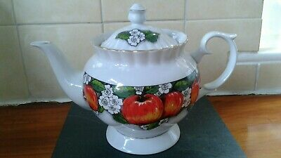 Chodziez Apple Design Large Teapot.made In Poland