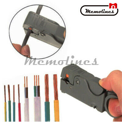 Cable stripper Cutter stripping pliers wire Hand tool Rotary Coax Coaxial Cable