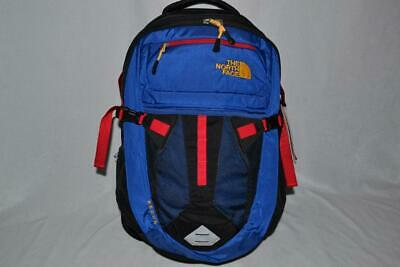 Authentic The North Face  Recon Cobalt Blue Black  Bookbag  Backpack Brand New