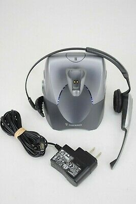 Plantronics  CS55 Receiver with Headset Business Wireless Office Headset