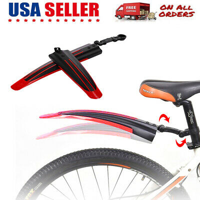 Bicycle Bike Cycling Front Rear Mud Guards Mudguard Fenders Set for Mountai D4O4