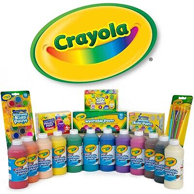 Crayola Paint - Lots of options - for Children & Adults - Non-toxic and Washable