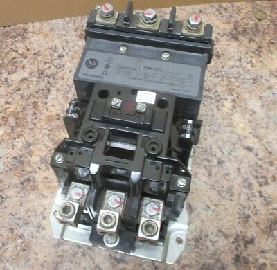Allen Bradley 500F-EO*930 Size 4 Contactor Starter Ser A 135 Amp CE236 Coil Used