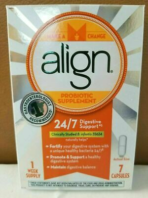 Align Probiotic Supplement ~24/7 Digestive Support ~ 56 Capsules/ 8 Week Supply