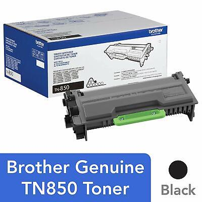 Genuine OEM Brother TN850 Black High Yield Toner Cartridge For HL DCP MFC , New.