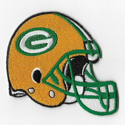 Green Bay Packers (c) Iron on Patch Embroidered Football Patches
