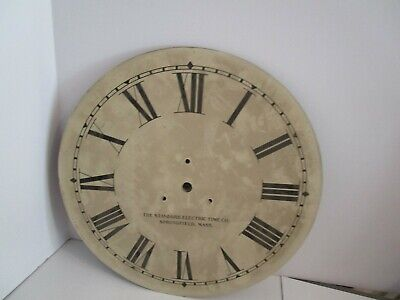 Standard Electric Time Co. Clock Dial  - #D-6
