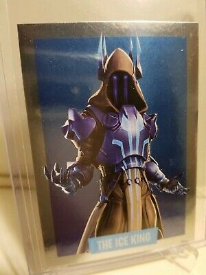 2019 Panini Fortnite Series 1 THE ICE KING Foil Card #312 STICKER