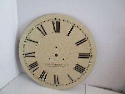 Standard Electric Time Co. Clock Dial  - #D-7