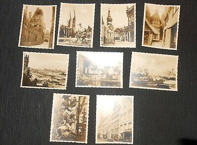 9X Vintage Photos of GERMANY