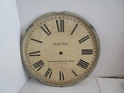 Standard Electric Time Co. Clock Dial  - #D-13