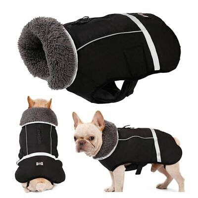 Winter Waterproof Outdoor Dog Jacket Warm Coat Small Medium Large Pet Clothes