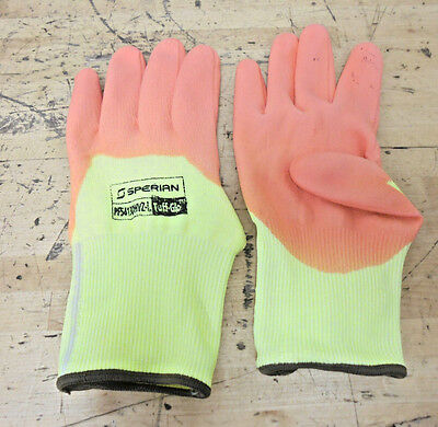 UCI KUTLASS PUX-500Y  PACK OF 10 PAIRS M Yellow Cut level 5 gloves size 8