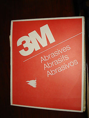 "3M 02106 Paper Sheets Abrasives 9"" x 11"" 120 Grade A/O Brown A Weight"