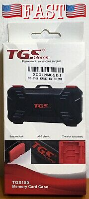 TGS150 Gems Memory Card Case (ABS Plastic) Photographic Accessories SD Card Hold