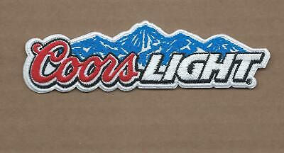 NEW 2 5//8 X 4 INCH BUDWEISER BUD MAN IRON ON PATCH FREE SHIPPING P1