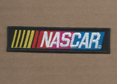New 1 X 4 Inch Nascar Bar Iron On Patch Free Shipping P1