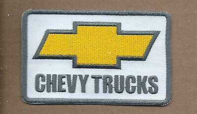 New 2 3/8 X 3 3/4 Inch Chevy Trucks Iron On Patch Free Shipping P1