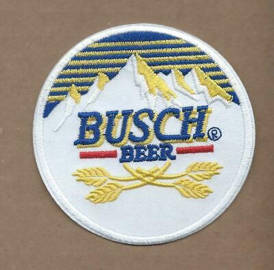 New 3 Inch Busch Beer Iron On Patch Free Shipping P1