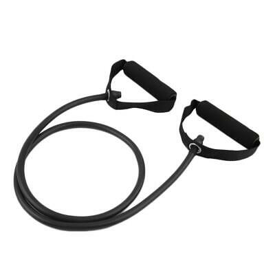 Fitness Resistance Band Rope Tube Elastic Exercise for Yoga Pilates Workout EH