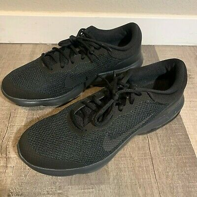 Mens Nike Air Max Advantage Running Shoes Black Anthracite 908981 002