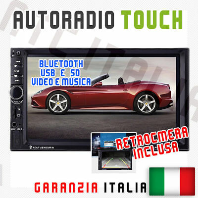 "Autoradio Ntc Berühren 2 Din 7 "" Universal MP3 DVR SD Bluetooth Aux +"
