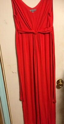 NY Collection Womens Size Small  Long Dress Knit