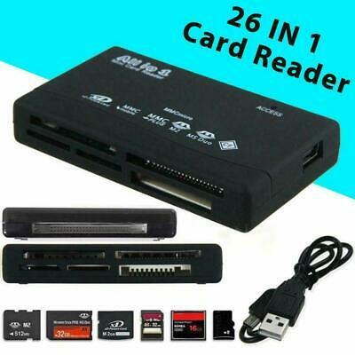All in 1 USB 2.0 Multi-Card Reader with USB Lead X3O2