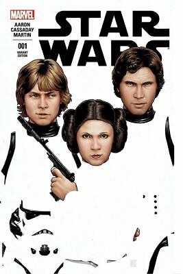 Star Wars #1 Comicxposure John Tyler Christopher Variant Cover