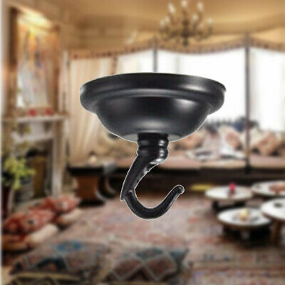 Home Modern Ceiling Cover Plate Decorative Accessories Pendant Lamp Hook UK