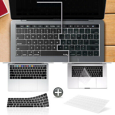 "Keyboard Cover Skin for New MacBook Pro 13"" 15"" 2019/2018/2017 A2159/A1989/A1706"