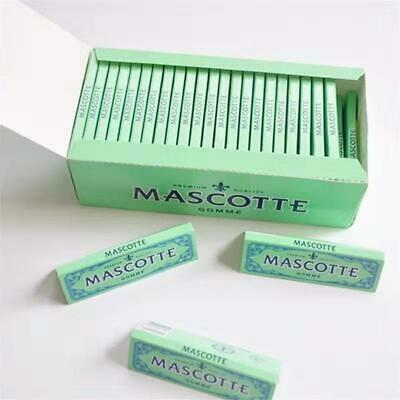 10 Packs Mascotte Gomme Finest Quality 70mm Cigarette Tobacco Rolling Papers