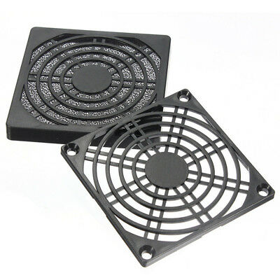 Dustproof 80mm Case Fan Dust Filter Guard Grill Protector Cover PC Computer ME