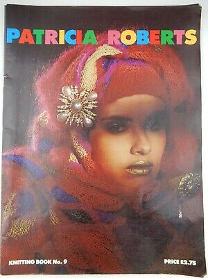 Patricia Roberts Knitting Pattern Book No. 9, Classic Designs 1984