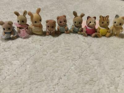 Sylvanian Families Calico Critters Baby Doll 9 Set Bulk Sale Epoch Japan