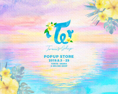 PRE-ORDER TWICE Twaii's Shop Japan Official Goods Merchandise Popup Store