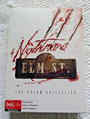 Nightmare On Elm Street- The Dream Collection, Dvd, 7-Disc Box Set, Region-4