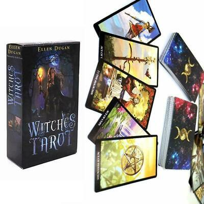78Pcs Tarot Deck Cards Read The Mythic Fate Divination For Fortune Card Pro V3A3