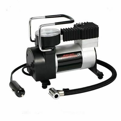 Mini Electric Car Tyre Inflator Air Compressor Pump 12V For Travel Portable New