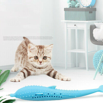 Interactive Cat Toothbrush Dental toy  Chew Stick Health Care Teeth Cleaner Pet
