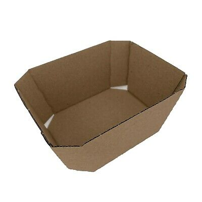 Nutley's Cardboard Fruit Punnet Recyclable Corrugated Packaging - 250g and 500g