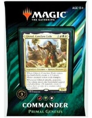 Magic Commander 2019 Genesis Primigenio