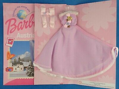 Unused Doll Outfit BARBIE - AUSTRIA Discover The World Magazine Mattel