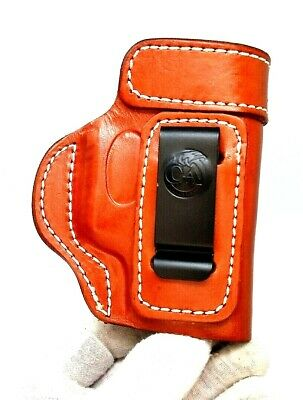 CEBECI IWB BROWN Leather Holster w/ Comfort Tab for 1911 4