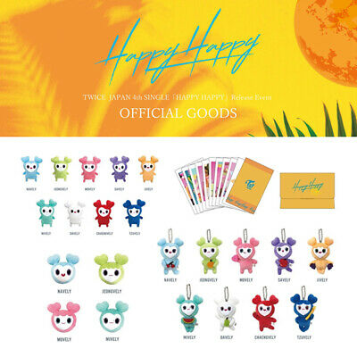 "TWICE ""Happy Happy"" Release Event Japan Official Goods Merchandise"