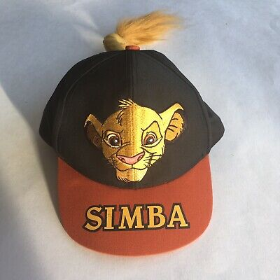 592969d29 DISNEY VINTAGE LION King Simba Child's Hat Cap New With Tags ...