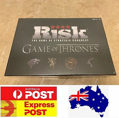 Risk, The Game Of Strategic Conquest, Game Of Thrones Version, AU Stock